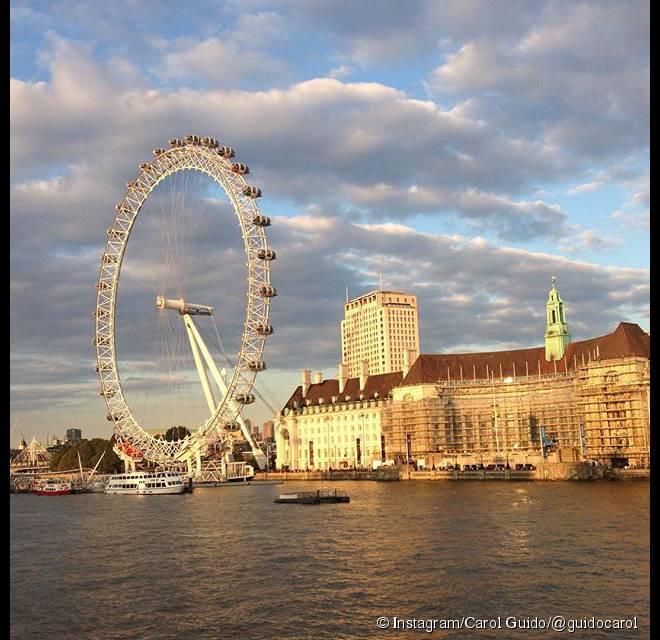 London Eye, mais um dos passeio clássicos que valem a pena
