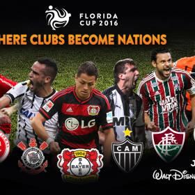 Pós Brasileirão: Corinthians, Inter, Fluminense e Atlético-MG na Florida Cup