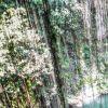 Parque eco-arqueológico Ik Kil (México) - Está localizado na região de Yucatan, a três quilômetros do sítio arqueológico de Chichén Itzá e a 200 quilômetros de Cancún. O parque é considerado um portal mágico pelos Maias. Isso, somado a beleza única do lugar, encanta visitantes do mundo inteiro. As piscinas naturais de águas azuis, límpidas e calmas são um convite a um mergulho. A temperatura média do parque é de 22ºC.