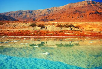 Se encante pelas incríveis paisagens do Mar Morto