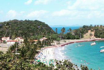 Bahia: Praia da Ponta de Nossa Senhora atrai visitantes