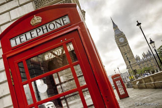 Cabine telefônica é um dos maiores símbolos de Londres