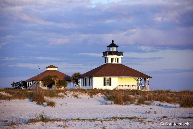 A Ilha Gasparilla é um refúgio característico da antiga Flórida, e todas as pousadas e casas de campo são ideais para famílias