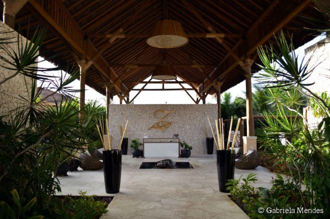 O Spa Zentropia é um dos pontos fortes do hotel com tratamentos para crianças, massagens relaxantes, românticas e serviços de beleza