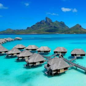 Bora Bora: saiba mais sobre o hotel em que Jennifer Aniston passou a lua de mel