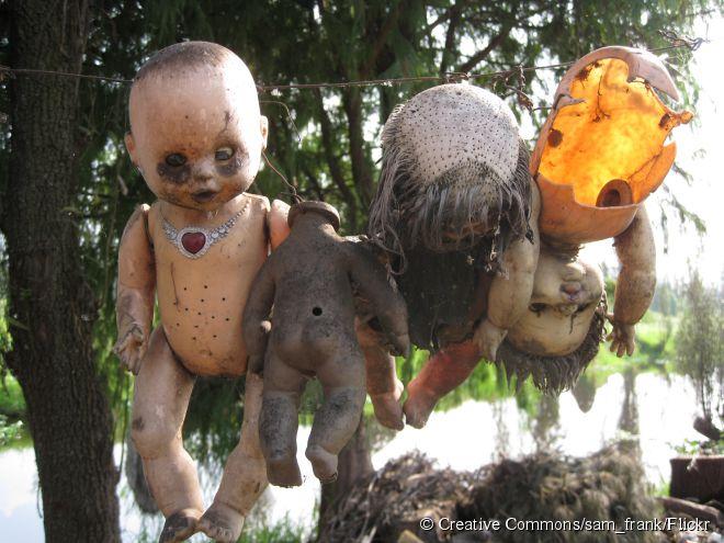 A Isla de las Muñecas, ou Ilha das Bonecas, no México é uma dessas atrações turísticas mais macabras do mundo