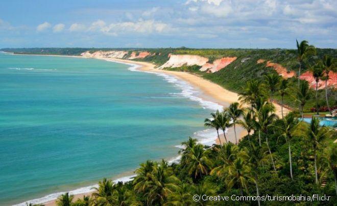 Porto Seguro reúne algumas das praias mais belas da Bahia