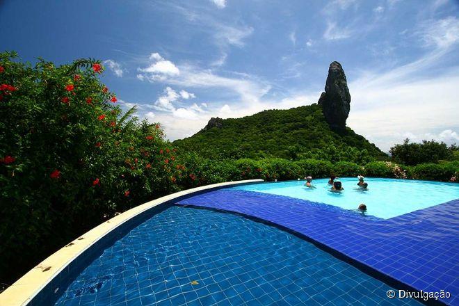 Pousada Zé Maria, uma das mais famosas da ilha de Fernando de Noronha