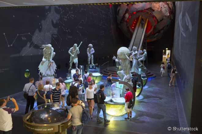 O Museu da Ciência é a instituição cultural mais interativa de Londres