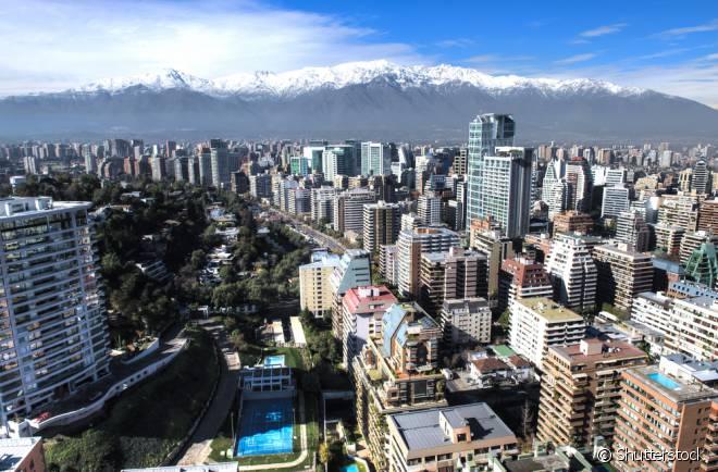 Santiago é uma das cidades recomendadas para primeira viagem internacional