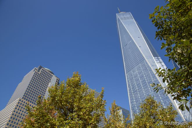 One World Trade Center (direita) é o maior edifício do hemisfério ocidental