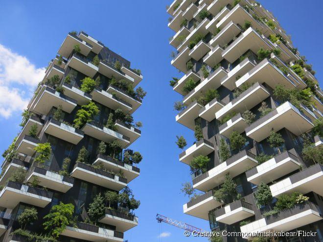 Arquitetura sustentável também é a marca do edifício residencial Bosco Verticale