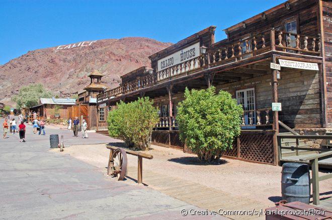 Calico é uma das cidades fantasma mais visitadas dos Estados Unidos
