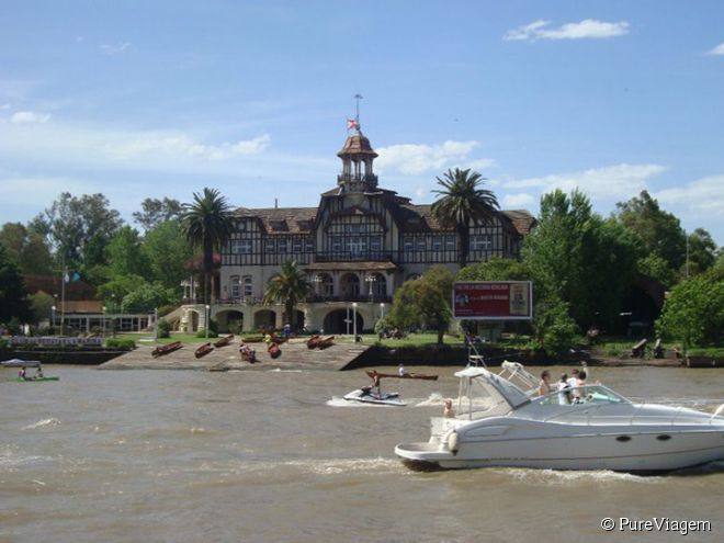 A agradável cidade de Tigre fica a 33 quilômetros do centro de Buenos Aires