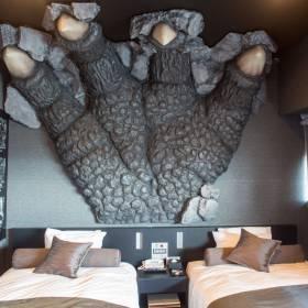 Japão: hotel temático do Godzilla abre as portas em Tóquio