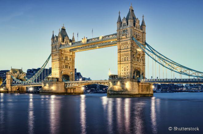 A Tower Bridge é uma maravilha da engenharia e um dos ícones de Londres