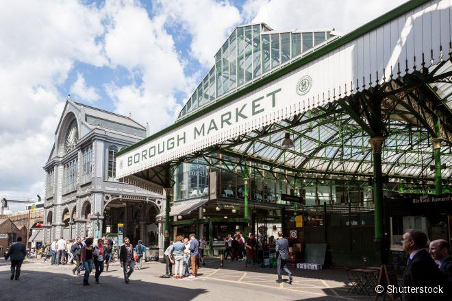 O Borough Market é um dos mercados gastronômicos mais antigos do mundo