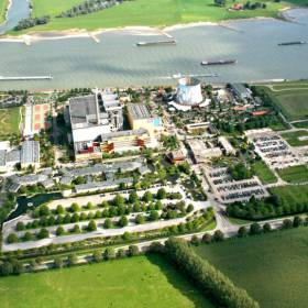 Usina nuclear abandonada vira parque temático na Alemanha