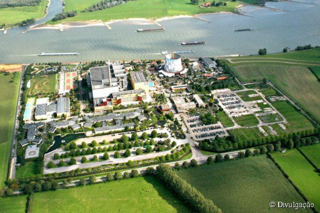 A antiga usina nuclear alemã SNR-300 deixou de ser um lugar abandonado para se transformar em um paraíso de diversão