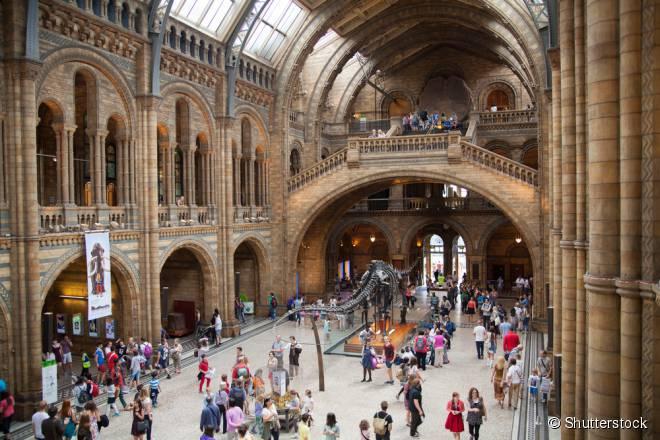 A maioria dos museus da capital inglesa são gratuitos