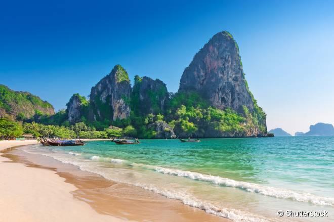 Tailândia reúne algumas das melhores praias da Ásia e de todo o mundo