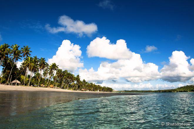 Praia dos Carneiros, Pernambuco -  Famoso destino turístico do litoral sul de Pernambuco, a Praia dos Carneiros é perfeita para quem busca um merecido descanso de férias. Rústica e deserta, a praia é famosa por águas calmas e quentes, piscinas naturais e pelo bosque de coqueiros como pano de fundo.