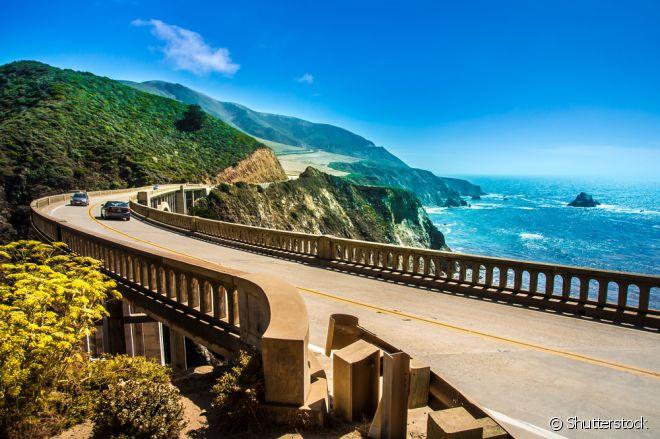 Entre as maravilhas naturais da Califórnia está Big Sur
