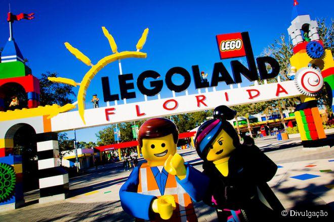 O maior parque da Lego no mundo fica em Winter Haven, com 60 hectares de área