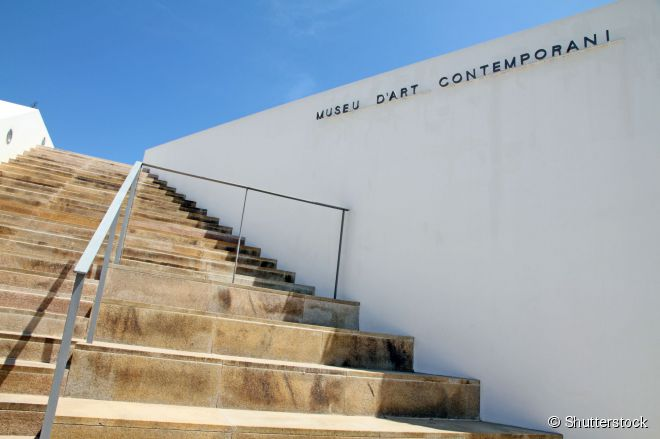 Museu de Arte Contemporânea, uma das atrações culturais imperdíveis de Ibiza