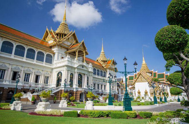 O Grand Palace é um dos principais símbolos arquitetônicos da capital Bangcoc