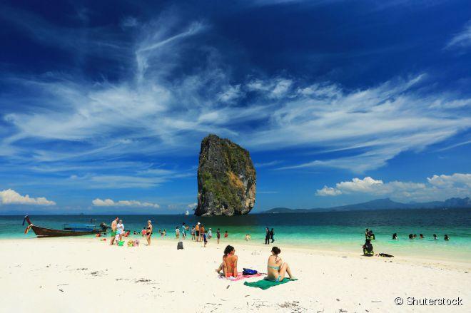 Koh Poda, uma das ilhas paradisíacas da província de Krabi
