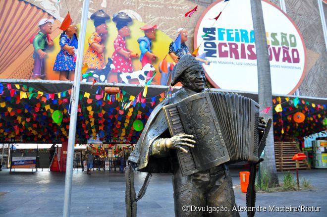 Feira de São Cristóvão: pavilhão inteiramente dedicado à cultura nordestina