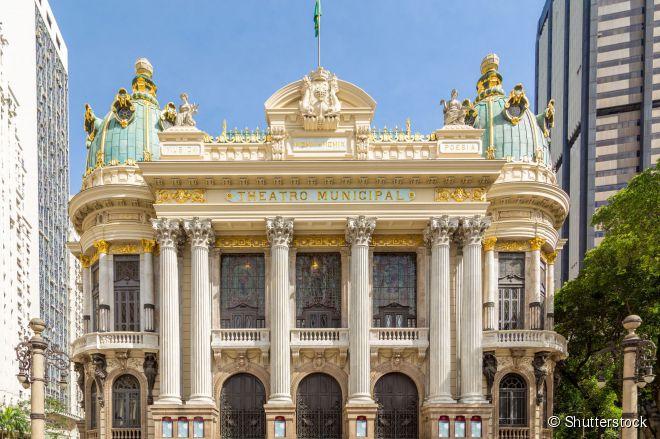 Teatro Municipal do Rio de Janeiro, uma das mais belas joias arquitetônicas da cidade