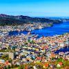 55- Bergen, Noruega:  esta cidade portuária é parada obrigatória para quem deseja conhecer os fiordes noruegueses. Seu custo diário para turistas é de US$ 211,45 (R$ 589,25).