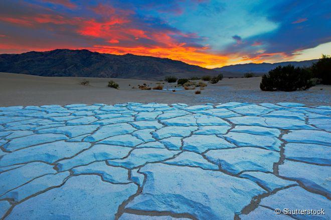 O Death Valley é o parque nacional mais quente e seco dos Estados Unidos