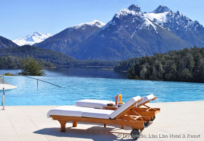 O Llao Llao Hotel & Resort é um dos empreendimentos hoteleiros mais luxuosos de Bariloche