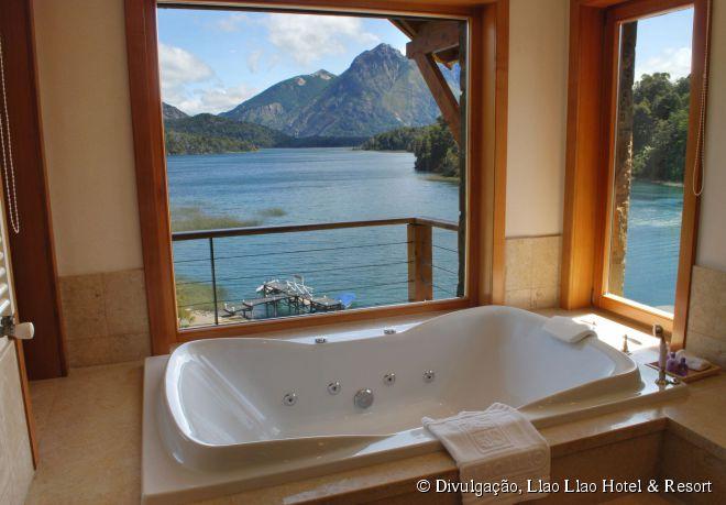 Suíte com uma vista arrebatadora do 5 estrelas Llao Llao Hotel & Resort