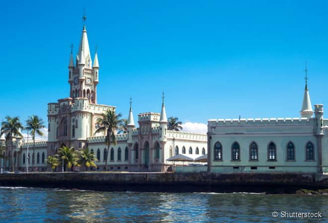 Castelo da Ilha Fiscal, no Rio de Janeiro, foi erguido no século 19 para ser a alfândega do cidade imperial