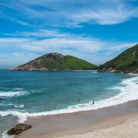 Rio de Janeiro: confira praias desertas na Cidade Maravilhosa