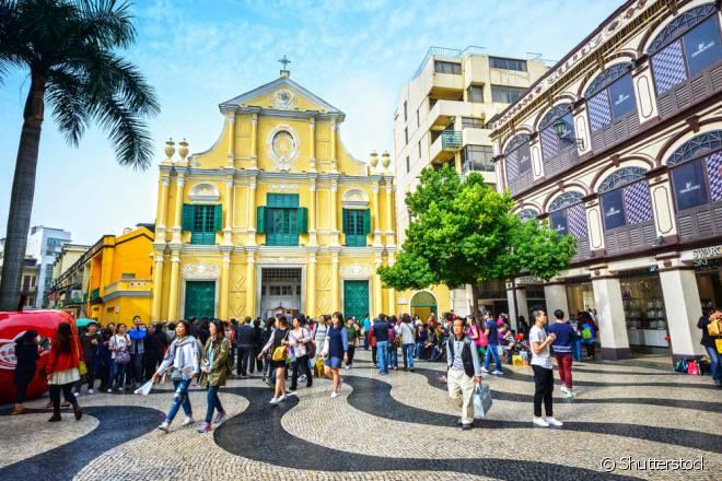 Colonizada pelos portugueses, Macau foi anexada à China apenas no recente ano de 1999