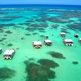 Rio de Janeiro, Santa Catarina e Bahia têm praias caribenhas de tirar o fôlego