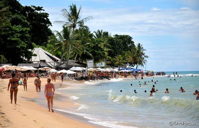 Mucugê é a praia mais perto do centro de Arraial