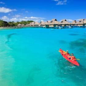 Bora Bora é uma das mais famosas ilhas da Polinésia Francesa