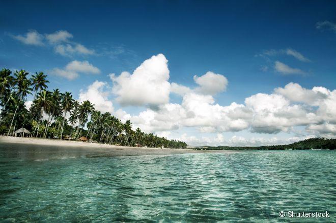 A paradisíaca praia dos Carneiros, uma das mais belas e preservadas faixas de areia do país