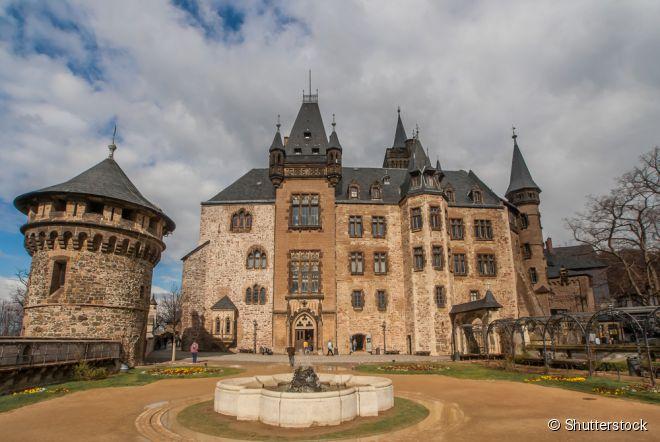 Nas montanhas Harz, fica a construção mais recente do castelo de Wernigerode, finalizada no século 19