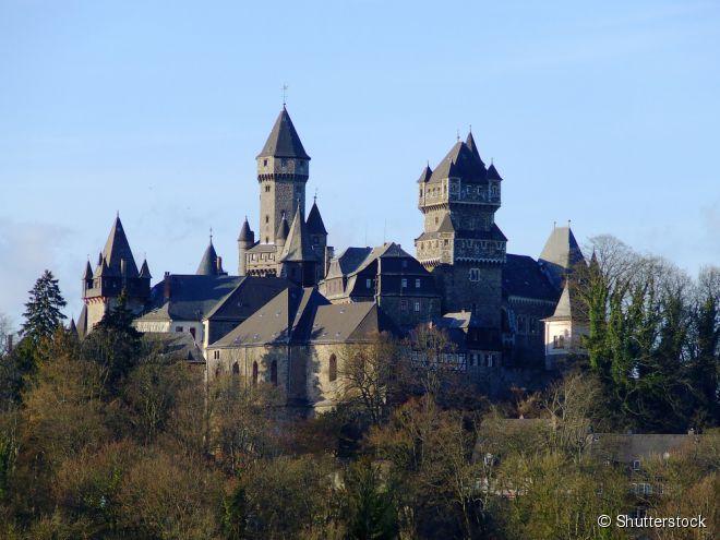O castelo de Braunfels tem estado nas mãos da linhagem nobre por 800 anos, e é habitado até hoje