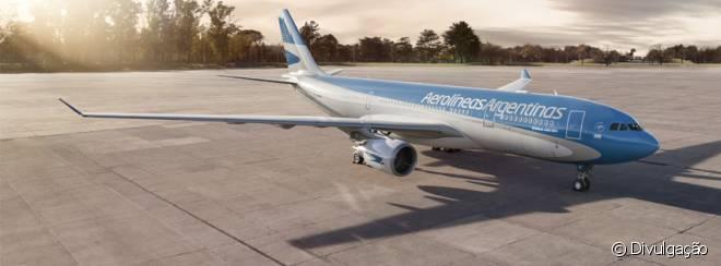 A Aerolíneas Argentinas é a maior companhia aérea da Argentina