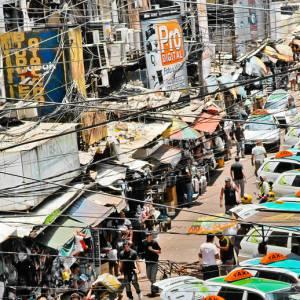Cidade paraguaia é considerada a terceira maior zona franca de comércio do mundo, atrás apenas de...
