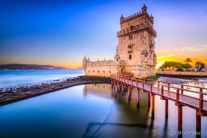 Principal cartão-postal de Lisboa, a Torre foi declarada Patrimônio Mundial pela Unesco