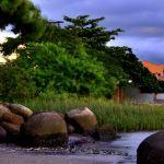 Praia do Ribeirão da Ilha - Primeira comunidade...